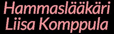 Hammaslääkäri Liisa Komppula